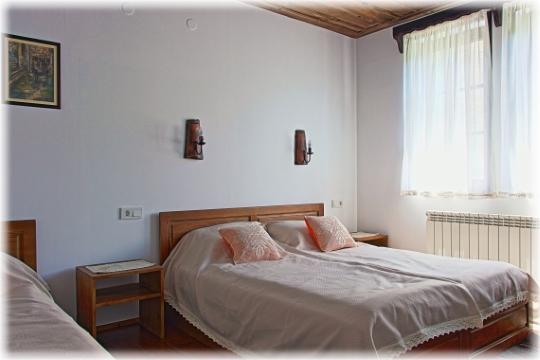 Спалнята на апартамента